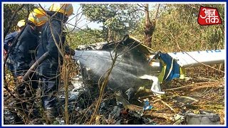 mumbai helicopter crashes in goregaon s aarey colony pilot dead