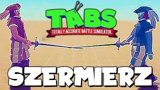 NOWA JEDNOSTKA *SZERMIERZ* | TOTALLY ACCURATE BATTLE SIMULATOR PL