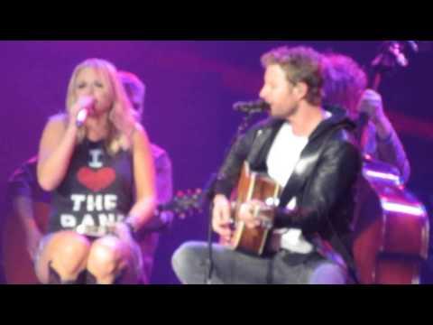 Miranda Lambert and Dierks Bentley - After The Fire Is Gone-Live in Bossier City, LA  [HD Snippet].