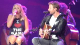 miranda lambert and dierks bentley   after the fire is gone live in bossier city la hd snippet