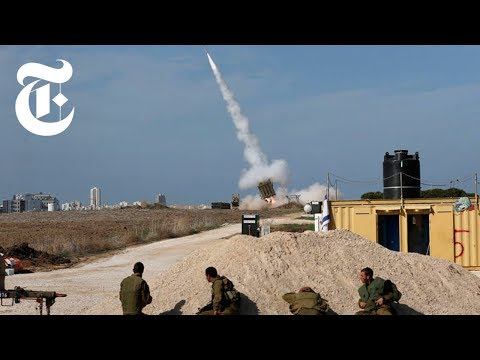 Iron Dome in Action in Israel: Shooting Down Rockets | The N