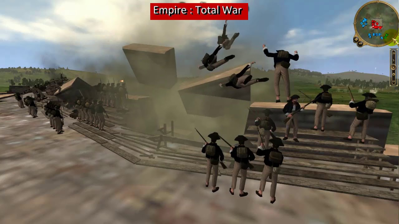 The power of artillery - Empire Total War, Britain vs US - Part 1 of 3