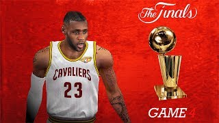NBA 2K14 PC 2017 Finals Updated Rosters │Cavaliers vs Warriors│Game 4│ ESPN MOD HD