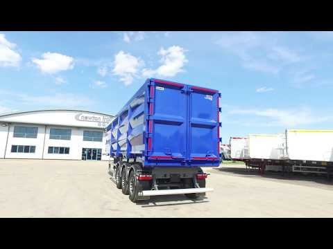 2017 Newton Steel Tipping Trailer - The Lightest