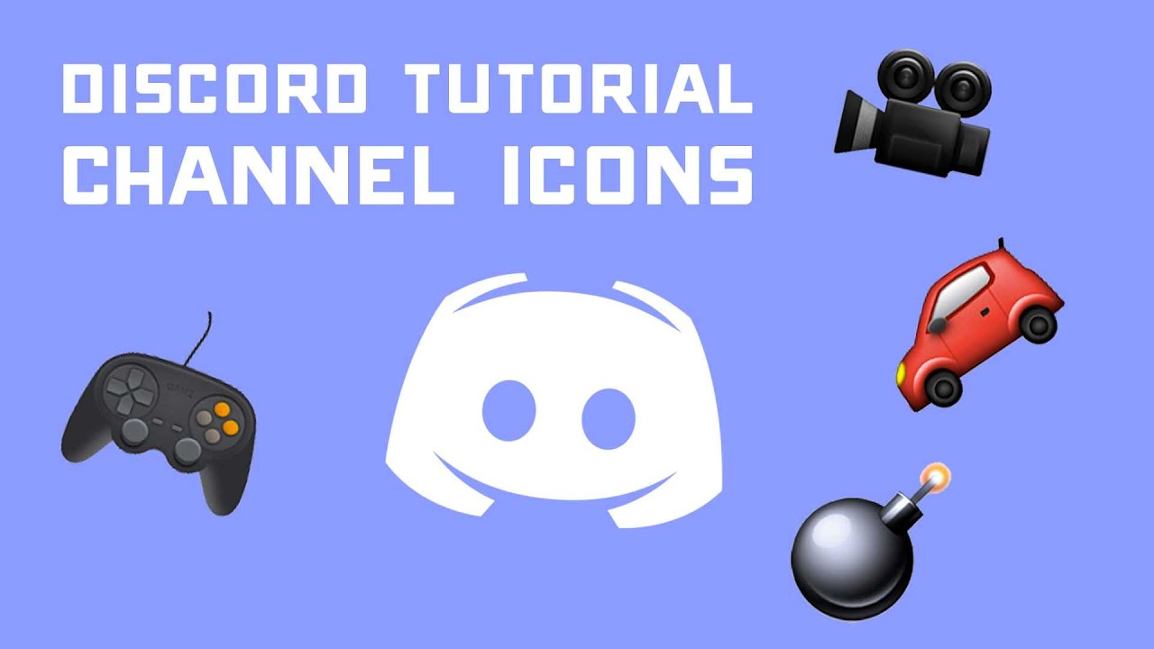 Discord Tutorial - Adding Channel Icons to Your Server via Emojis