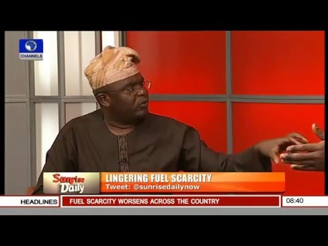 Kayode Opeifa, Fmr Comm Transport Lagos On Fuel Scarcity Pt.1