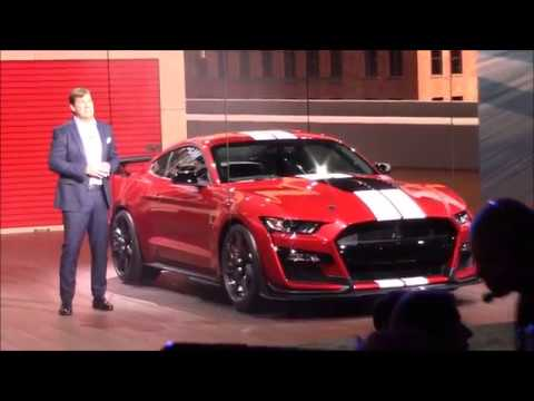 Ford Mustang Shelby GT World Debut!!!  NAIAS - Automotive Affairs