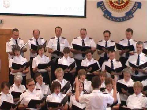 "Chelmsford Citadel Songsters sing ""One life to live"""