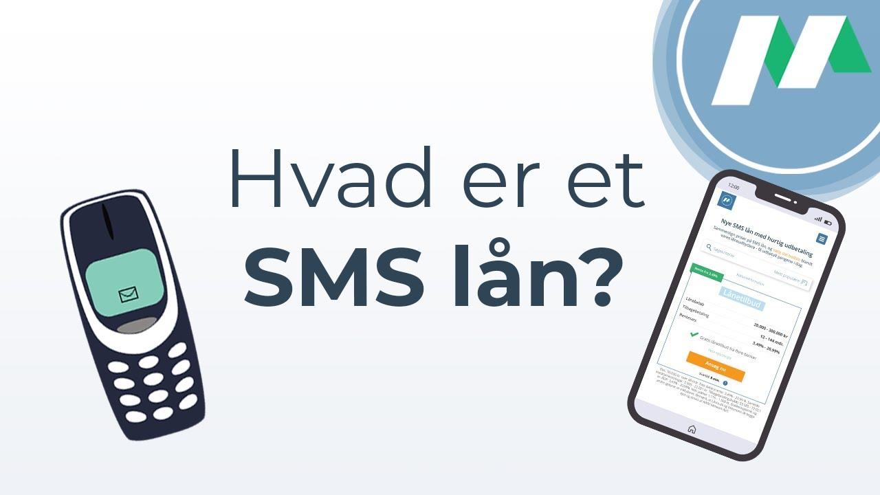 Sms lån - lån nemt med din smartphone