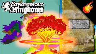 Repeat youtube video Pressing the END WORLD Button In UK World 5 - Stronghold Kingdoms