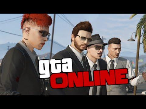 GTA ONLINE - ПОХОРОНЫ МАФИИ #216
