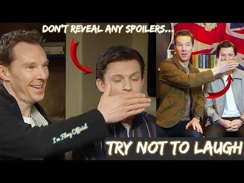 Avengers: Infinity War  Benedict Cumberbatch Continuously Stopping Tom Holland Spoilers  2018
