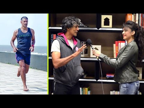 Milind Soman's Tips on Barefoot Running, Nutrition and Supplements I Sapna Vyas