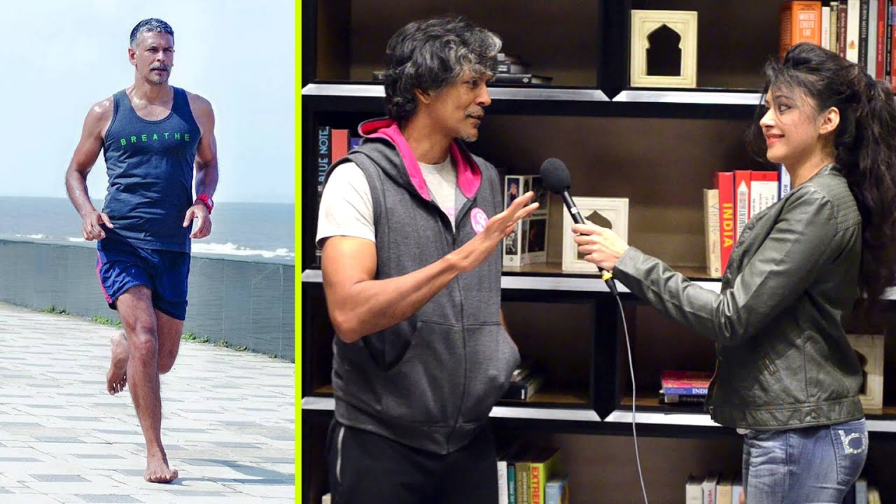 Shory Sapna Vyas Patel: Milind Soman's Tips On Barefoot Running, Nutrition And