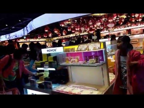 duty free shop at Narita Airport Japan