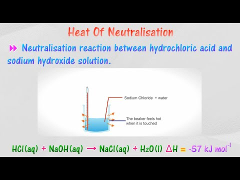 [4 4] Heat of neutralisation - Calculation