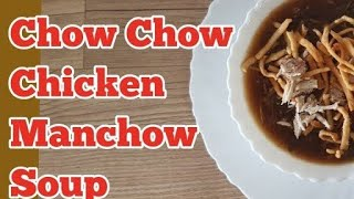 Chicken Manchow Soup ll Restaurant Style ll With English Subtitles  ll Cooking with Benazir
