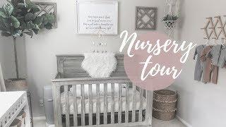 NURSERY TOUR | GENDER NEUTRAL BABY NURSERY