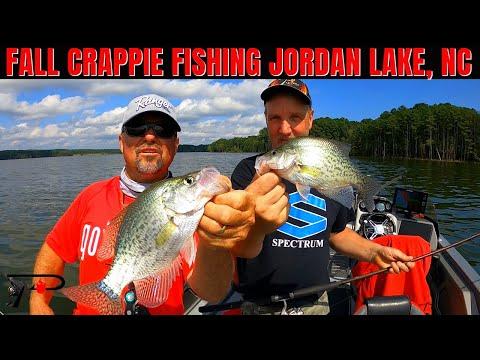 Crappie Fishing North Carolina's Jordan Lake