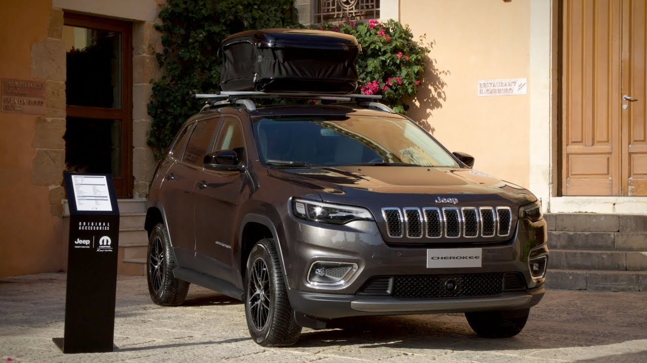 2019 Jeep Cherokee With Mopar Accessories Eu Spec