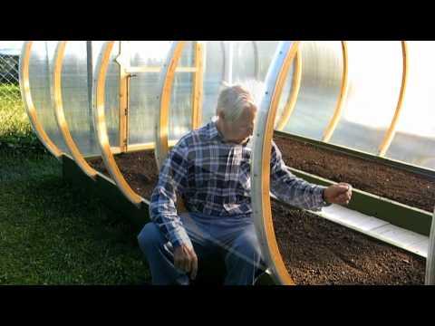 видео: Теплица трансформер
