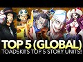 [TOP 5] BEST STORY UNITS!!! (One Piece Treasure Cruise - Global)