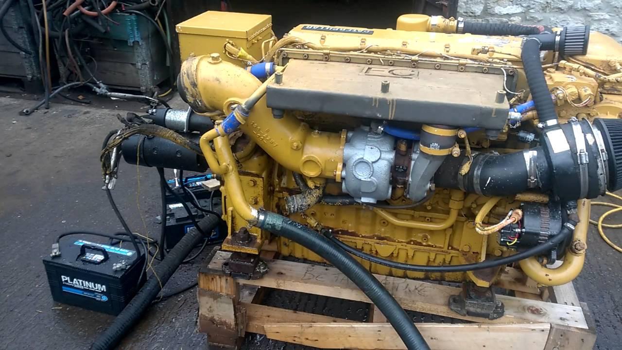 caterpillar 3126 350hp marine diesel enigne [ 1280 x 720 Pixel ]