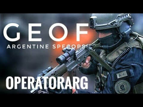 GEOF | Argentine Special Forces | Federal Police | PFA