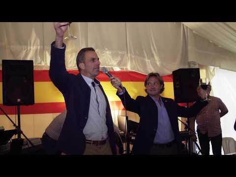 Brindis de los tercios en el acto por la Unidad de España en Mallorca