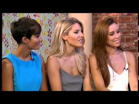 The Saturdays - Interview On This Morning (11th August 2014)