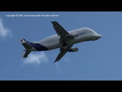Airbus Beluga LANDING & TAKEOFF | Broughton