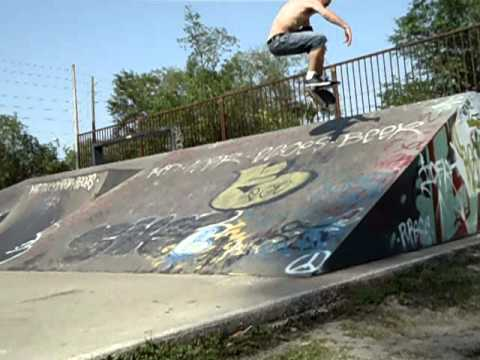 frontside flip at Cuba Hunter park in Jacksonville, FL