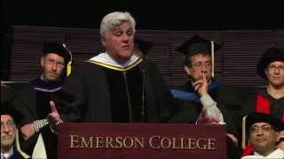 Jay Leno at Emerson Commencement 2014 thumbnail
