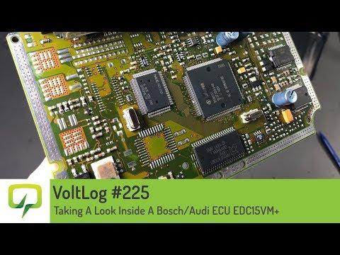 Voltlog #225 - Taking A Look Inside A Bosch/Audi ECU EDC15VM+