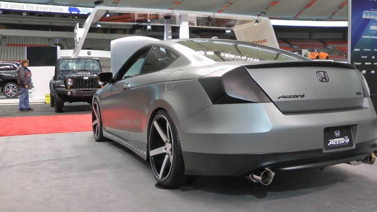 Honda Accord Coupe Remix 2 0 Vancouver Auto Show Youtube