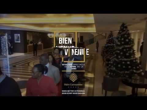 Saint Sylvestre 2014 au Palm Camayenne - Vidéo 1 sur 3 - Bienvenue à la soirée