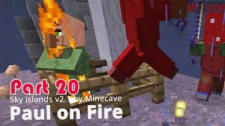 Minecraft Adventure Map - Sky Islands v2.1 - Paul on Fire {20}