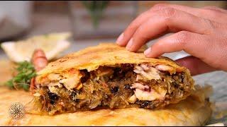 Choumicha : Pastilla au poisson et fruits de mer