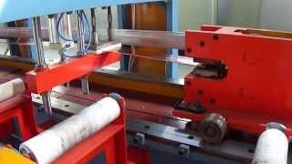 Hydraulic draw bench(Banco de Trefilar Hidráulico, Гидравлический волочильный станок)