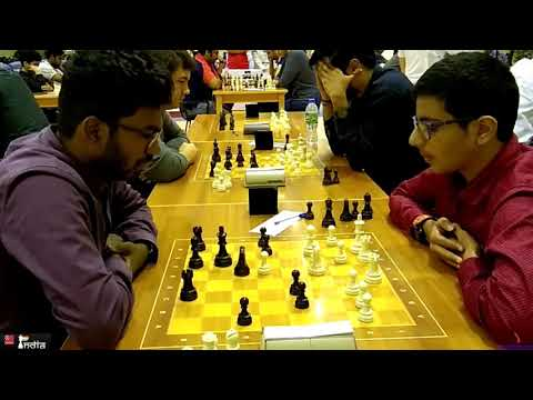 Youth Versus Experience - Who Will Triumph? Raunak Sadhwani Vs Sethuraman SP | Dubai Blitz 2019