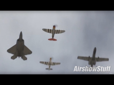 USAF Heritage Flight Conference 2017 - Extended Compilation