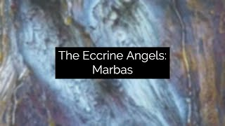 Eccrine Angel: Marbas, Experimental Video Art and Music by Collin Thomas