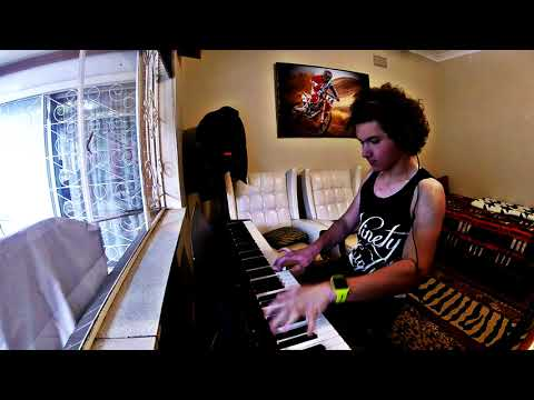 Download Youtube: Rudy Mancuso and Poo Bear - Black & White piano cover