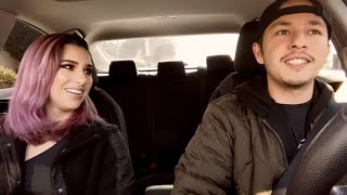 Uber Driver Raps About Heartbreak & She RELATED 💔!