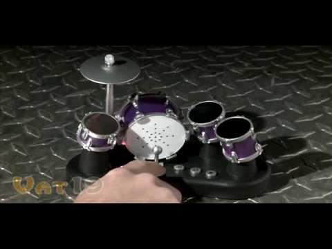 Finger Drums Tabletop Electric Drum Set mp3