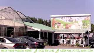 Green Thumb Farmers Market, Bakery, Greenhouse, Ice Cream & Souvenirs | Pictou, Nova Scotia
