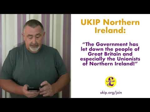 UKIP NI Slams May's Brexit Deal
