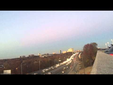Traffic on Interstate 395 during rush hour