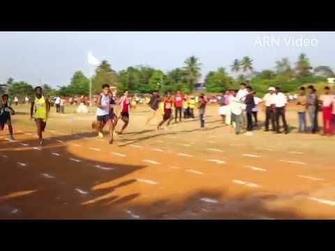 Clinse Roy Won Gold - 100 Meter ( Junior Boys ) at Thrissur District Sports & Games 2015-16