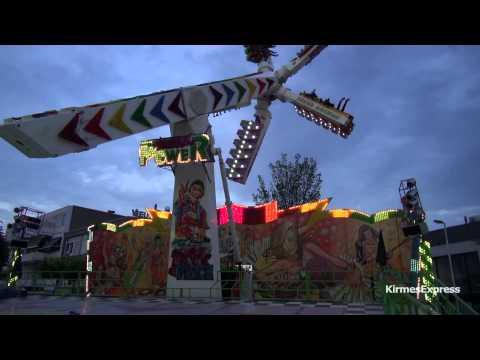 Sound Machine + Deejay (J. van der Beek) - kermis Tilburg 2013 (Offride)